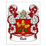 Dab Coat of Arms Small Poster