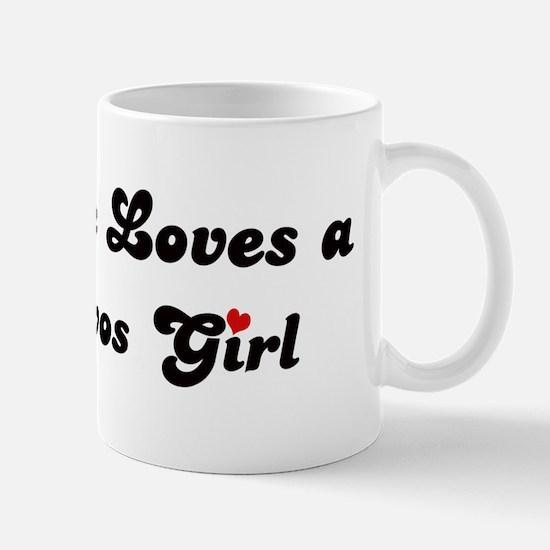Los Olivos girl Mug