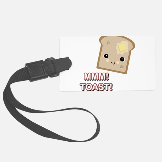 mmm toast.png Luggage Tag