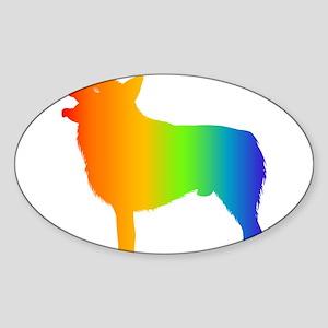 Schipperke Oval Sticker