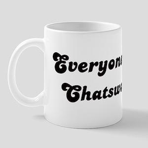 Chatsworth girl Mug
