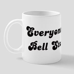Bell Station girl Mug
