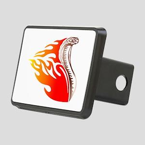 cobra flames design Rectangular Hitch Cover