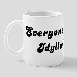Idyllwild girl Mug