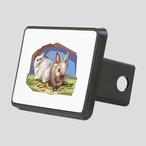 brown and white bunnies.png Rectangular Hitch Cove