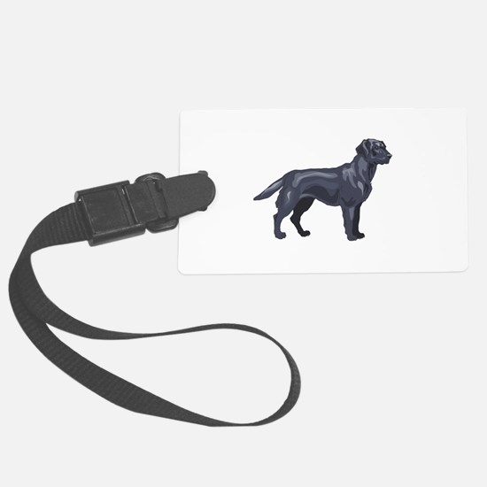 labrador retriver copy.jpg Luggage Tag