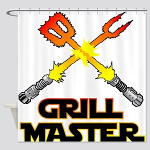 Grill Master Shower Curtain