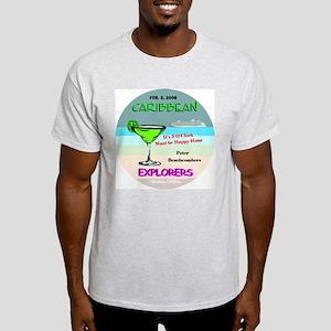 Beachcomber Peter Ash Grey T-Shirt