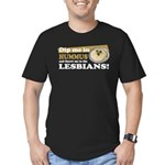 Dip Me in Hummus Men's Fitted T-Shirt (dark)
