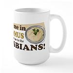 Dip Me in Hummus Large Mug