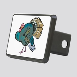 wild turkey.png Rectangular Hitch Cover