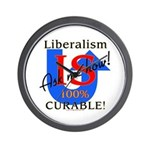 Liberalism is Curable Wall Clock