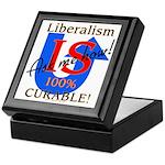 Liberalism is Curable Keepsake Box