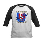 Liberalism is Curable Kids Baseball Jersey