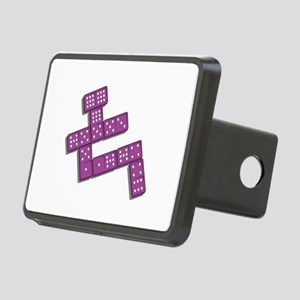 dominoes copy Rectangular Hitch Cover