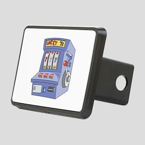 slot machine copy Rectangular Hitch Cover