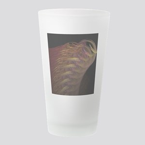 headdress Frosted Drinking Glass