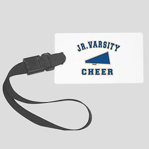 jr varsit cheer copy Large Luggage Tag
