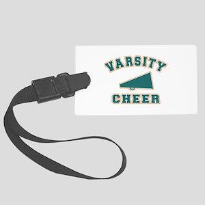 varsity cheer copy Large Luggage Tag