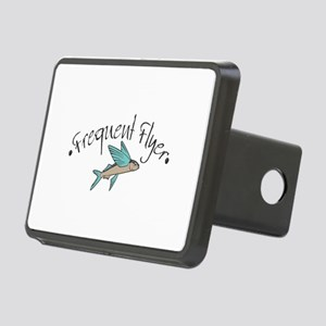 freauent flyer copy Rectangular Hitch Cover