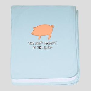 The Best Meats in the Rump baby blanket
