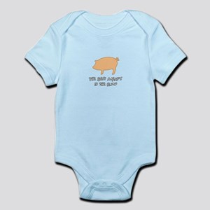 The Best Meats in the Rump Infant Bodysuit