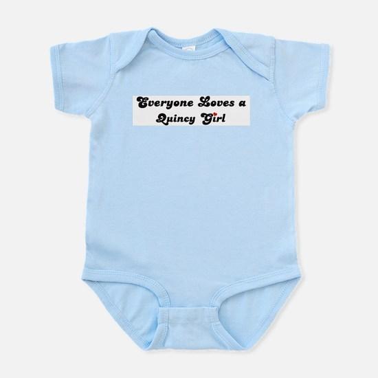 Quincy girl Infant Creeper