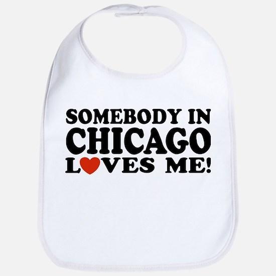 Somebody in Chicago Loves Me Bib