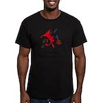 main logo Men's Fitted T-Shirt (dark)