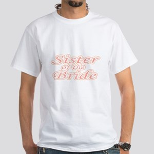 Sister of the Bride White T-Shirt