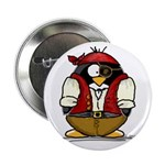 Pirate Penguin Button