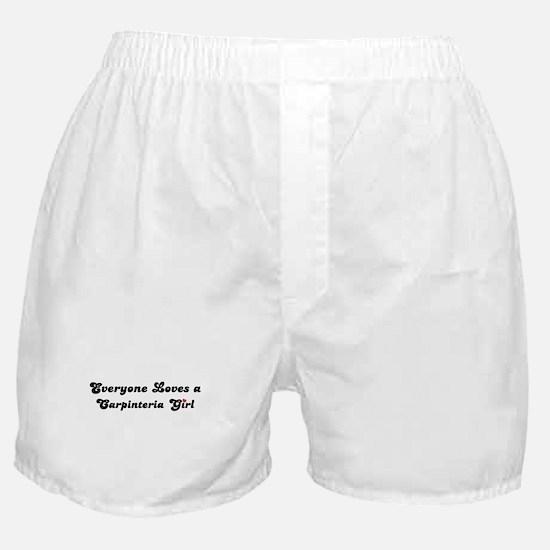 Carpinteria girl Boxer Shorts