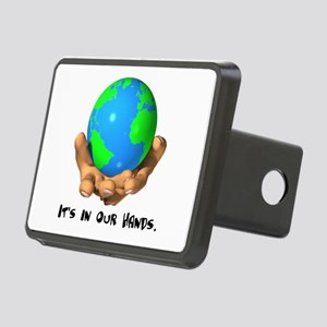 in our hands Rectangular Hitch Cover