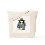 Treasure Hunter Penguin Tote Bag