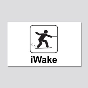 iWake 20x12 Wall Decal
