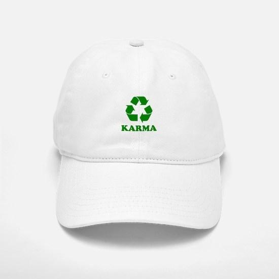 Karma Recycle Baseball Baseball Cap