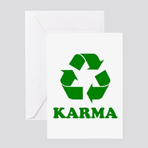 Karma Recycle Greeting Card