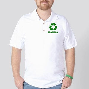 Karma Recycle Golf Shirt