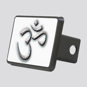 om Rectangular Hitch Cover
