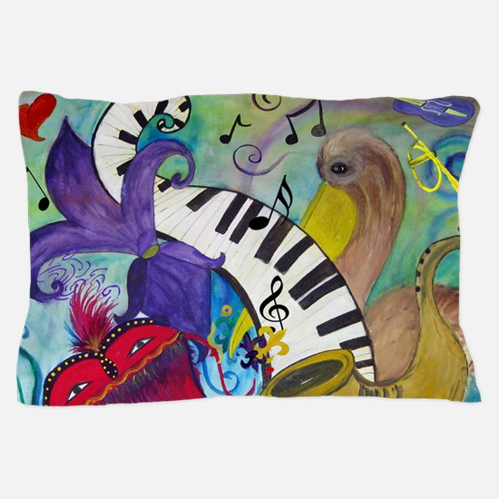 Southern Jazz Pillow Case