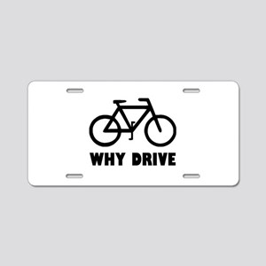 Why Drive Aluminum License Plate