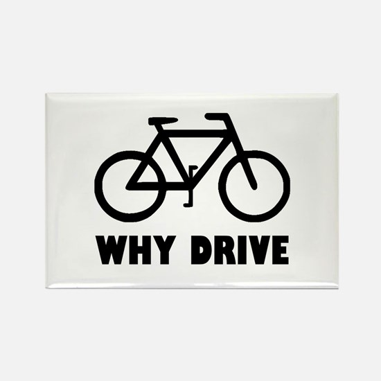Why Drive Rectangle Magnet (10 pack)