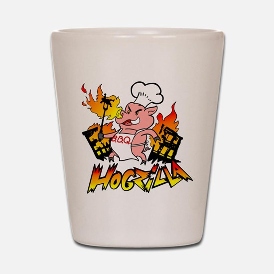 Hogzilla Shot Glass