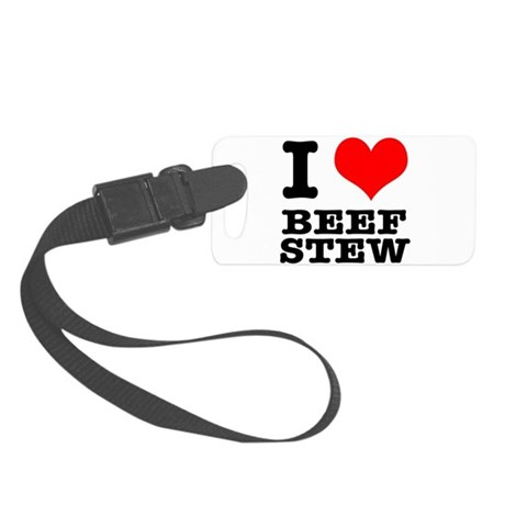 BEEF STEW.png Small Luggage Tag