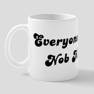 Nob Hill girl Mug