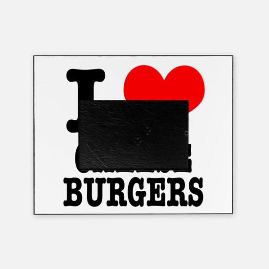 CHEESEBURGERS.png Picture Frame