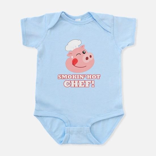 Smokin Hot Chef Infant Bodysuit