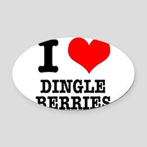 DINGLE BERRIES Oval Car Magnet