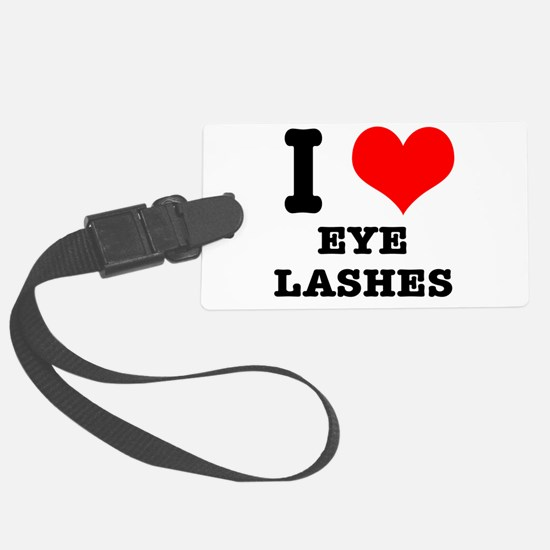 EYELASHES.png Luggage Tag