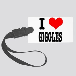 GIGGLES Large Luggage Tag